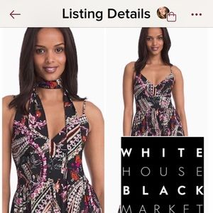 White House black market maxi dress